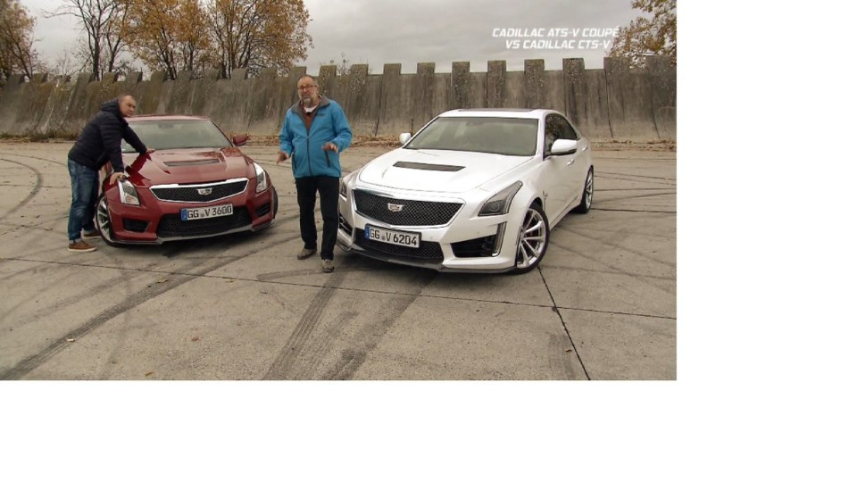 Cadillac ATS-V Coupé vs Cadillac CTS-V
