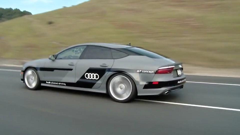 Autonomní Audi A7