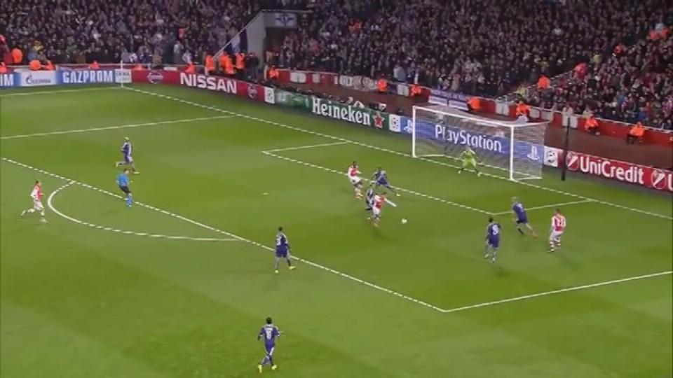 Sestřih zápasu - Arsenal v Anderlecht (4.11.2014)