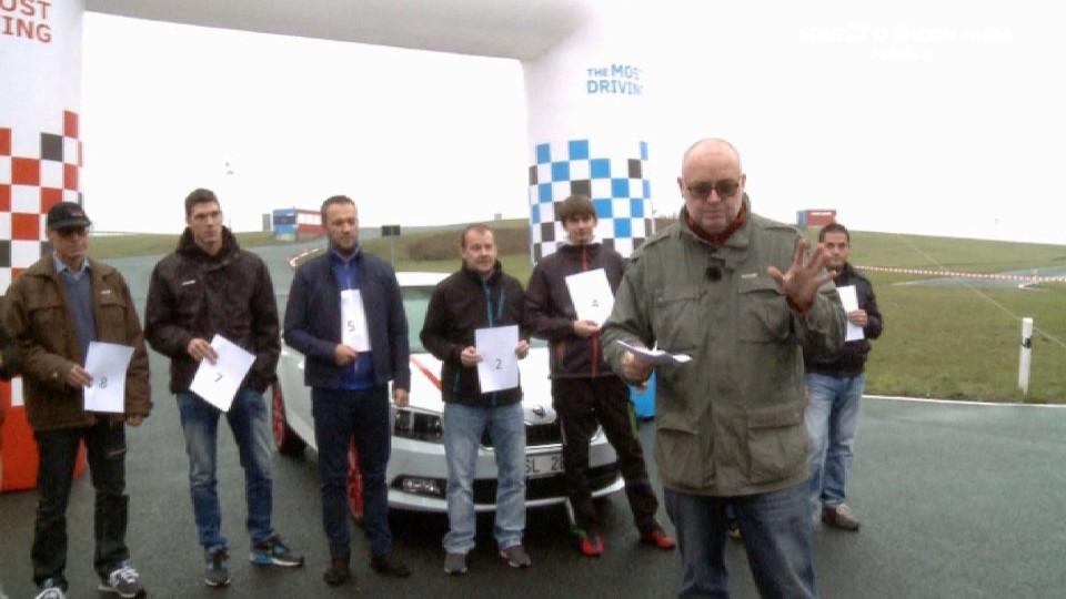 Soutěž o Škoda Fabia finále II