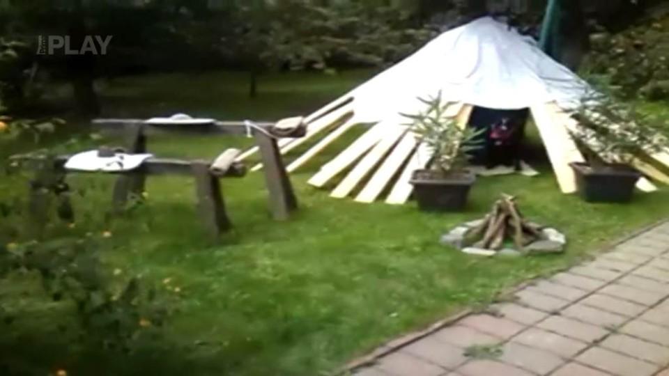 Úkol pro trosečníky - Indiánské tábořiště