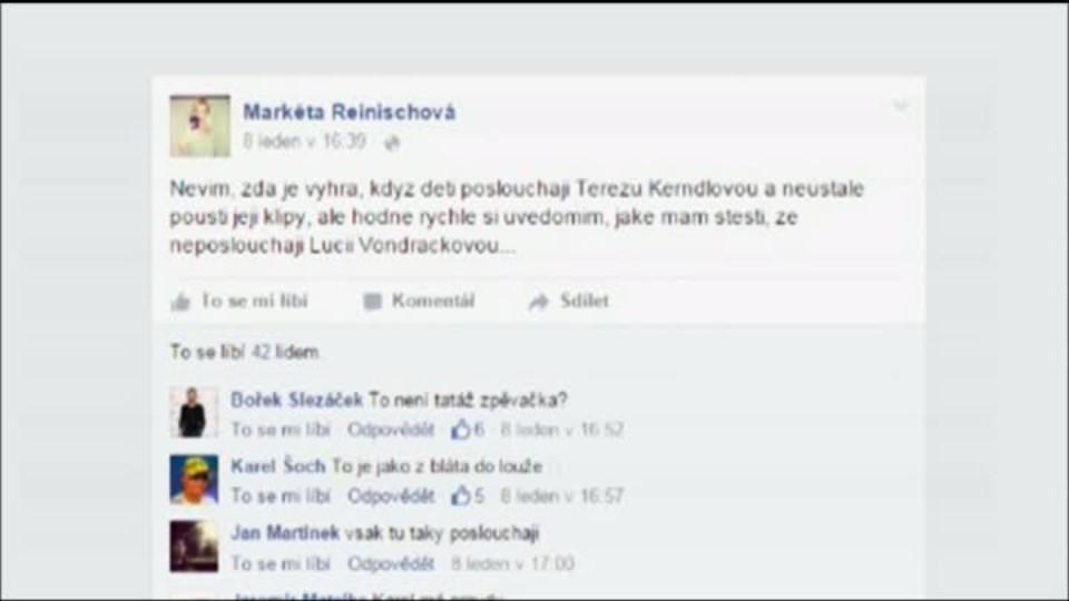 TOP STAR - Monika Absolonová vs Lucie Vondráčková