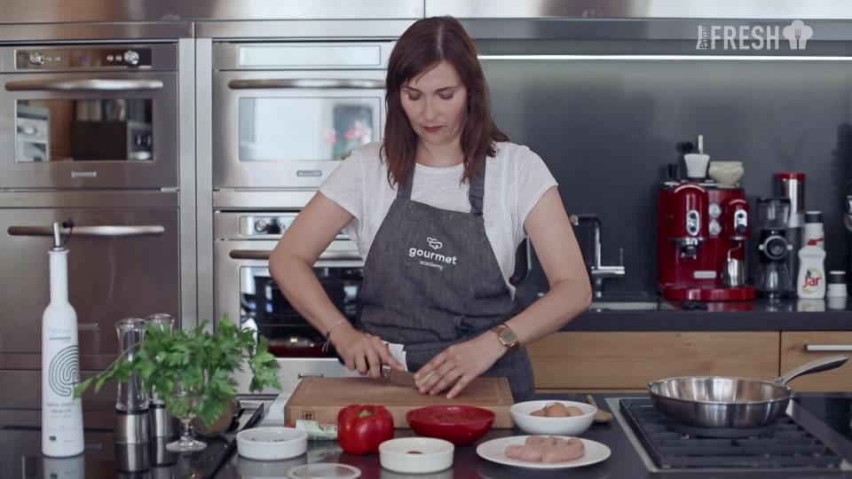 S Klárou v kuchyni: Shakshuka