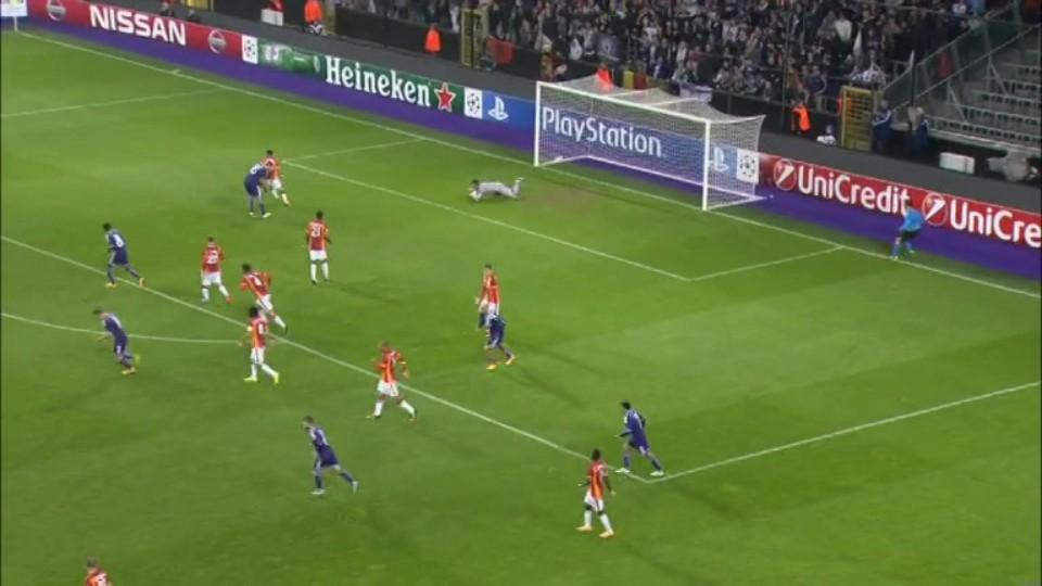 Sestřih zápasu - Anderlecht v Galatasaray (26.11.2014)