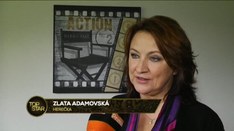 TOP STAR 2.6.2016 - Zlata Adamovská dabing