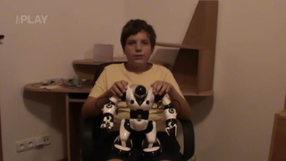 Úkol pro trosečníky - roboti