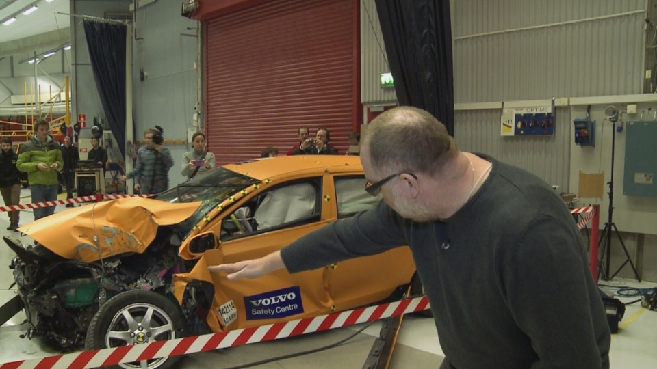 Crash test centrum III