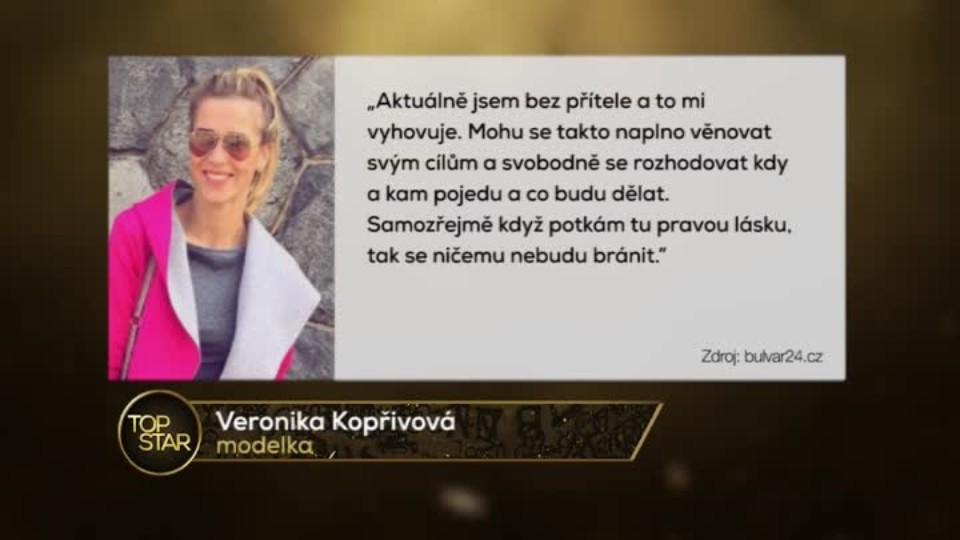 TOP STAR 10.2.2016 - Jarda Jágr s přítelkyní