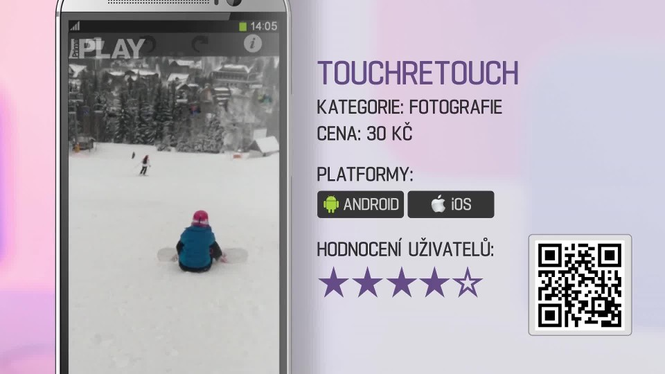 Prima Rádce - Aplikace TOUCHRETOUCH
