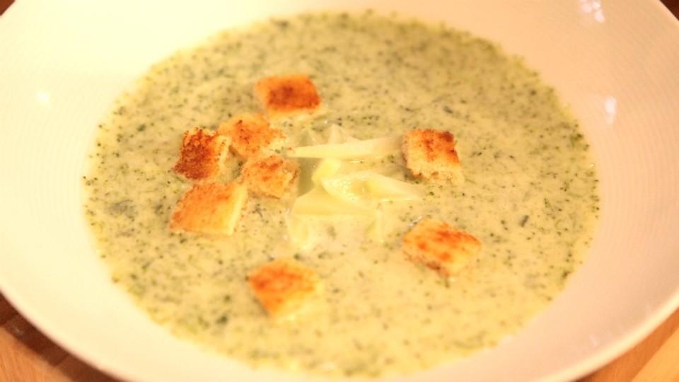 Vařte jako šéf - Brokolicový krém
