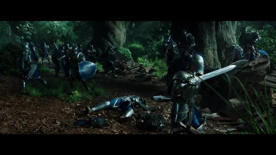Klip z Warcraftu: Lothar a vojáci