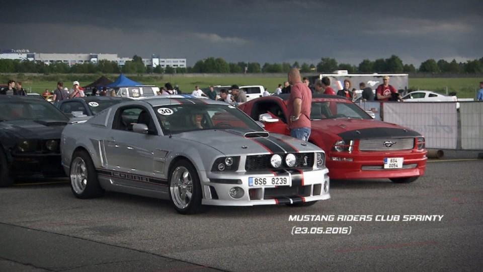 Mustang Riders Club Sprinty pozvánka