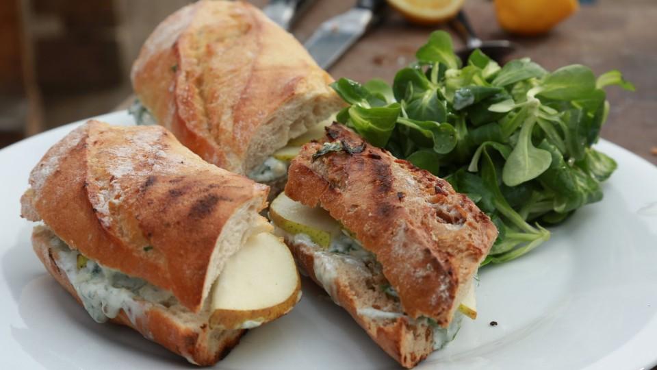 RTŠ II. (1) – Sendvič s hruškou a modrým sýrem
