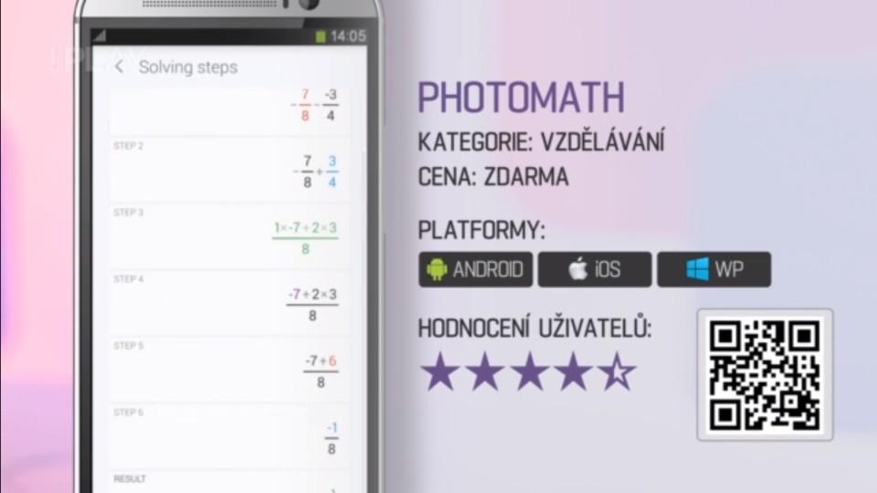 Prima Rádce - Aplikace na matematické úlohy