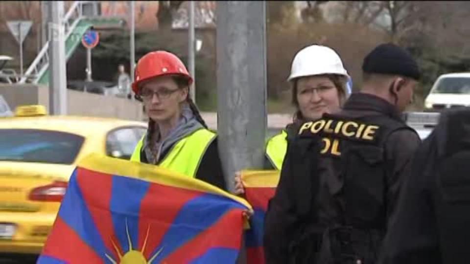 Policisté zasahovali kvůli protestům