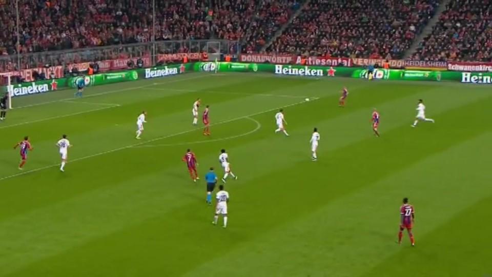Sestřih zápasu - Bayern v Shakhtar Donetsk (11.3.2015)