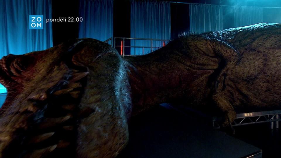 Pitva tyranosaura - upoutávka