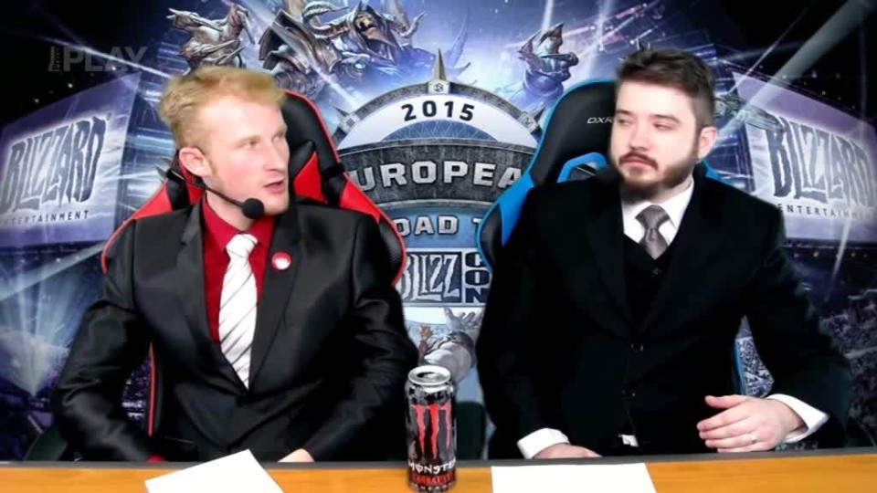 Road to BlizzCon 2015 - Sobota - Heroes of the Storm #1