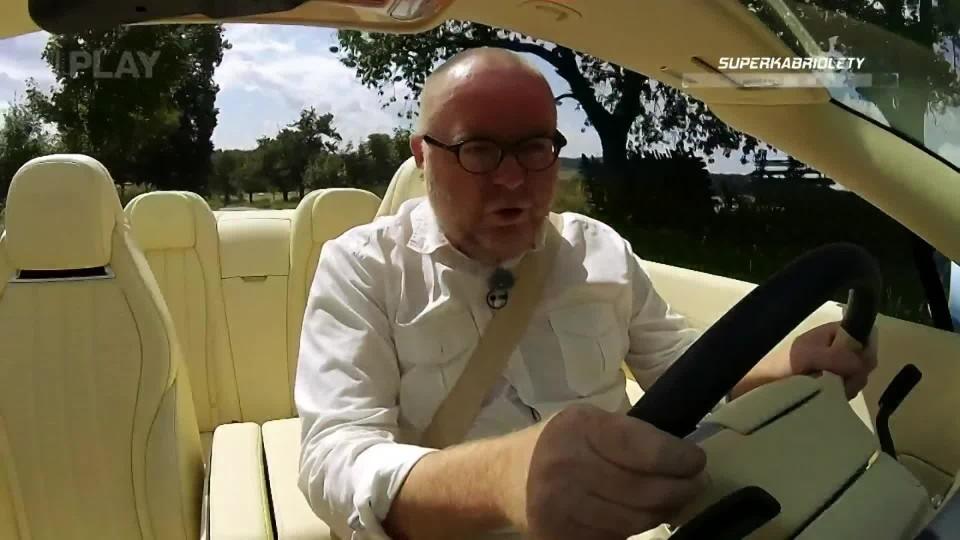 Superkabriolety (Aston Martin V12 Vantage Roadster, Bentley Continental GTC, Ferrari California T)