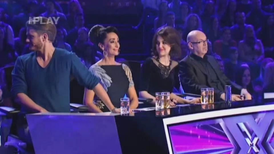X Factor (6) - nejlepší vystoupení - Peter Bažík
