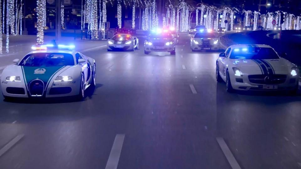 Exkluzivní promo video dubajské policie