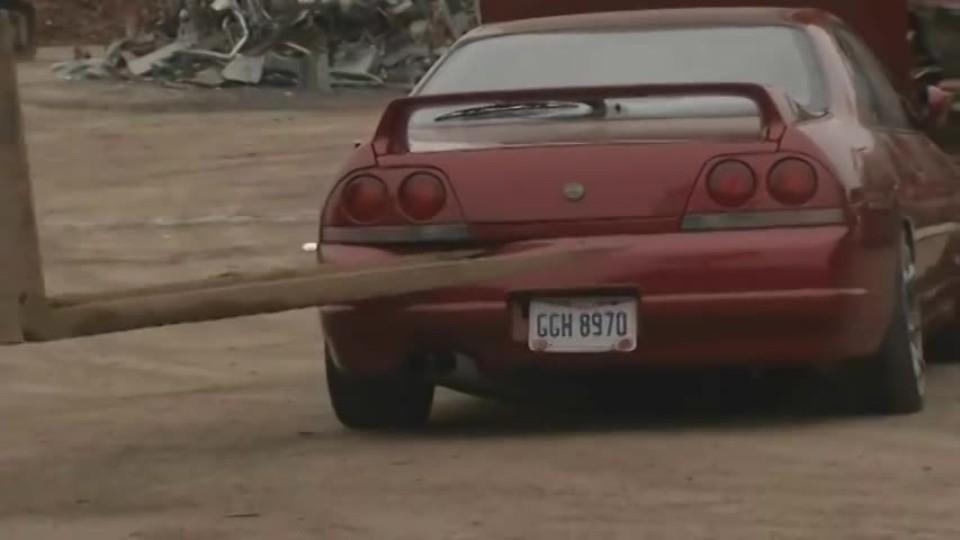Sešrotovaný Nissan Skyline