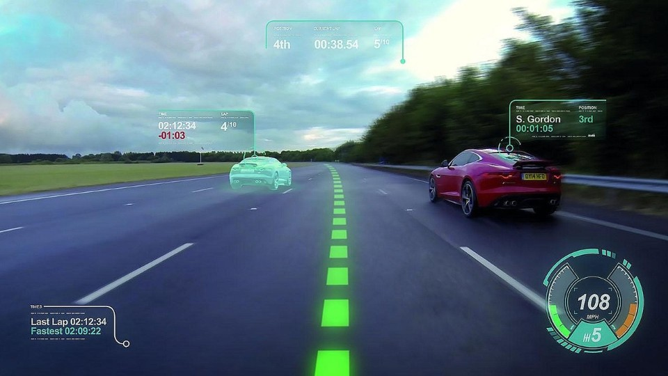 Jaguar Head up Display