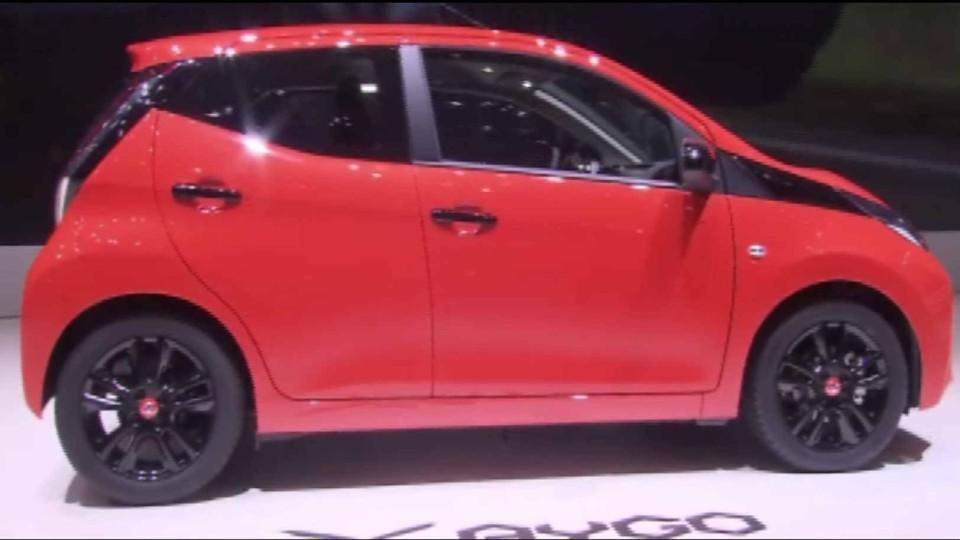 Toyota Aygo 2014 ( Ženeva )