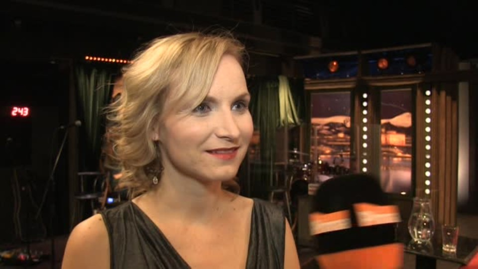 Novinářka Iva Roze v SJK