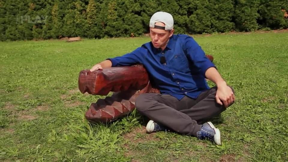 Vychytávky Ládi Hrušky - Sochy motorovou pilou