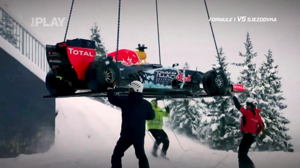 Formule 1 vs sjezdovka