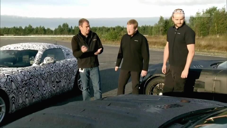 Testování Mercedes-AMG GT I