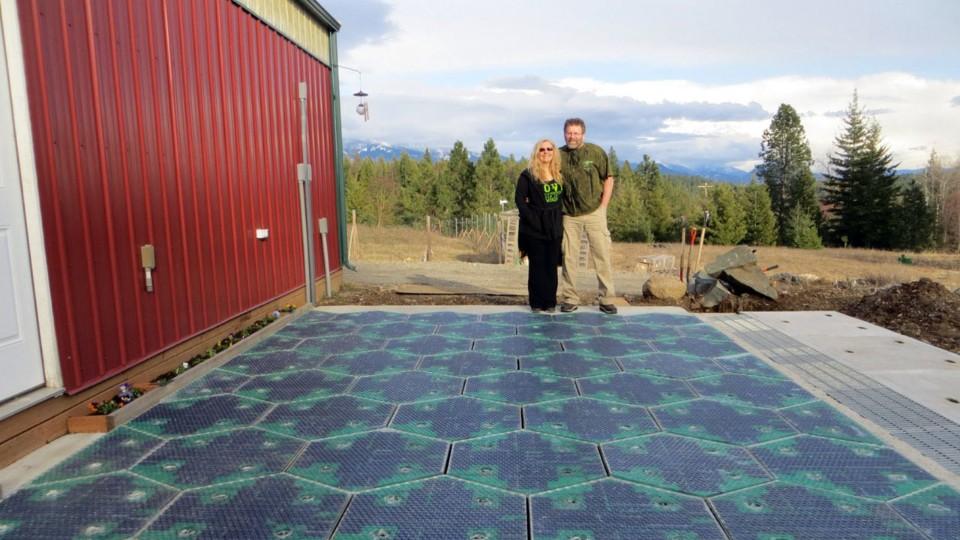 Solární silnice