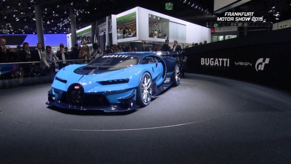 Frankfurt - Bugatti Vision Gran Turismo Concept