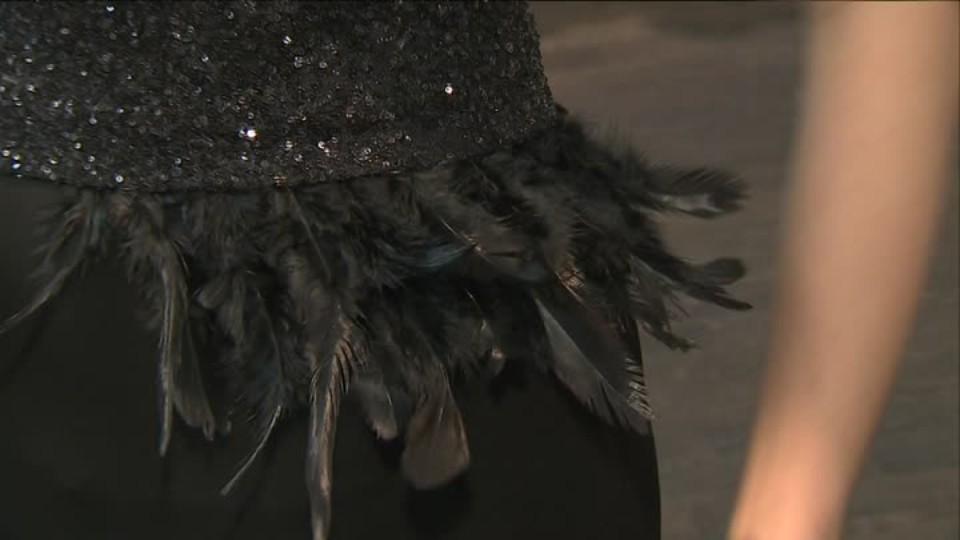 TOP STAR 2.2.2016 - Gábina Kratochvílová - plesové šaty