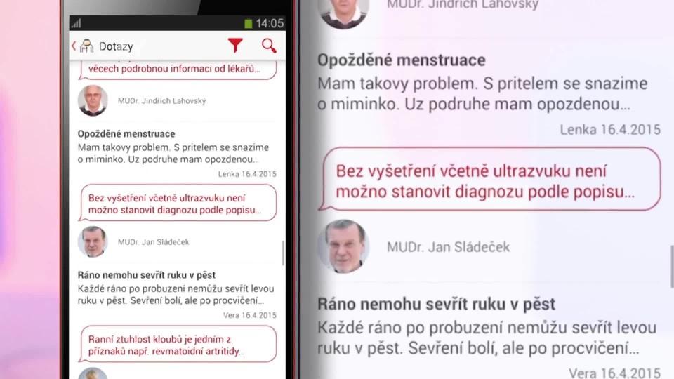 Prima Rádce - Aplikace U lékaře - online poradna v mobilu