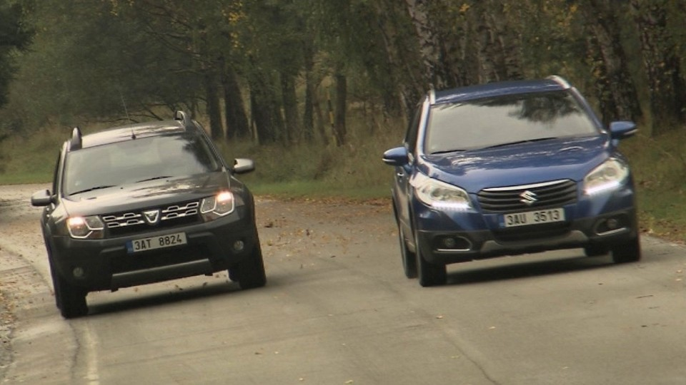 Dacia Duster 1,5 dCi 4x4 vs. Suzuki S-Cross 1,6 DDiS 4x4