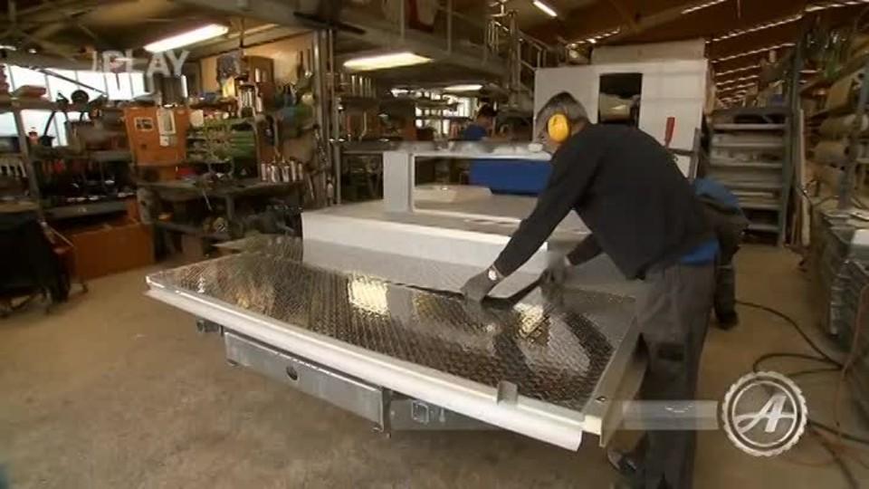 Výroba obytných vozů II