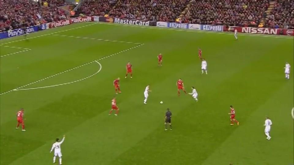 Sestřih zápasu - Liverpool v Real Madrid (22.10.2014)