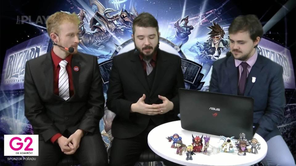 Road to BlizzCon 2015 - Neděle - Závěrečné studio