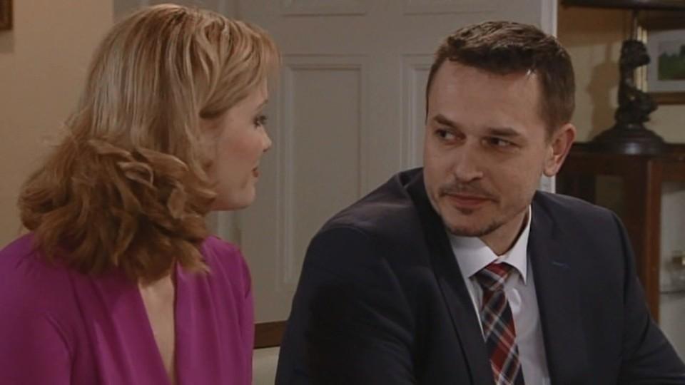 Mikuláš žádá Lindu o ruku