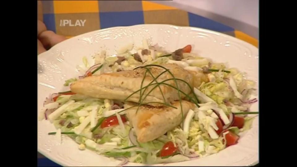 Taštičky s náplní z rybího filé