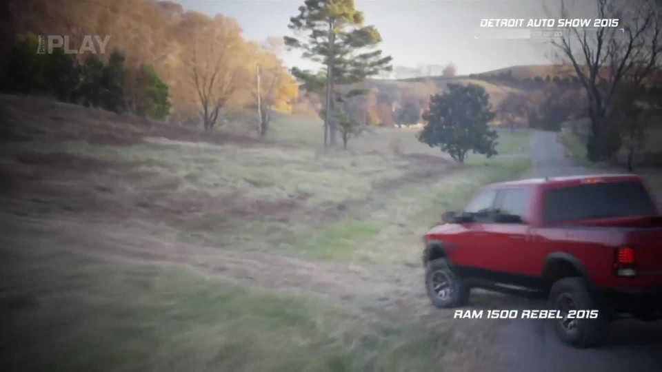 Dodge RAM 1500 Rebel 2015