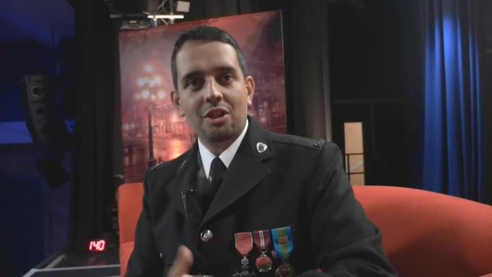 policista Petr Torák v SJK