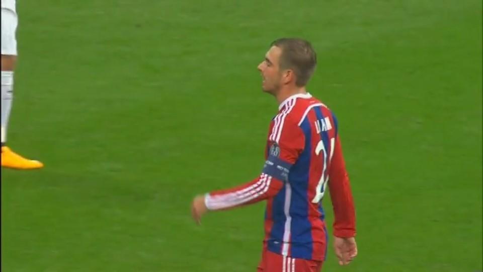 Sestřih zápasu - Bayern v Roma (5.11.2014)