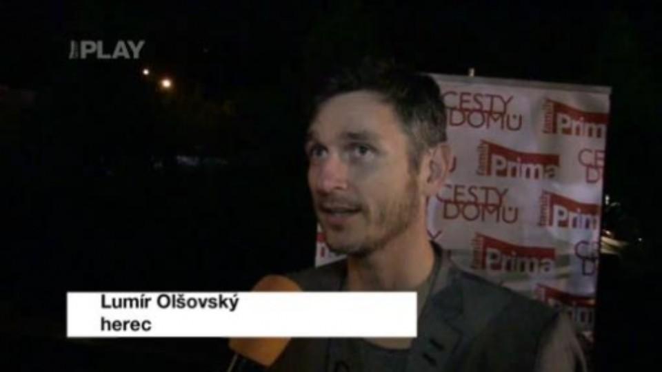 Večírek Cesty domů - Olšovský