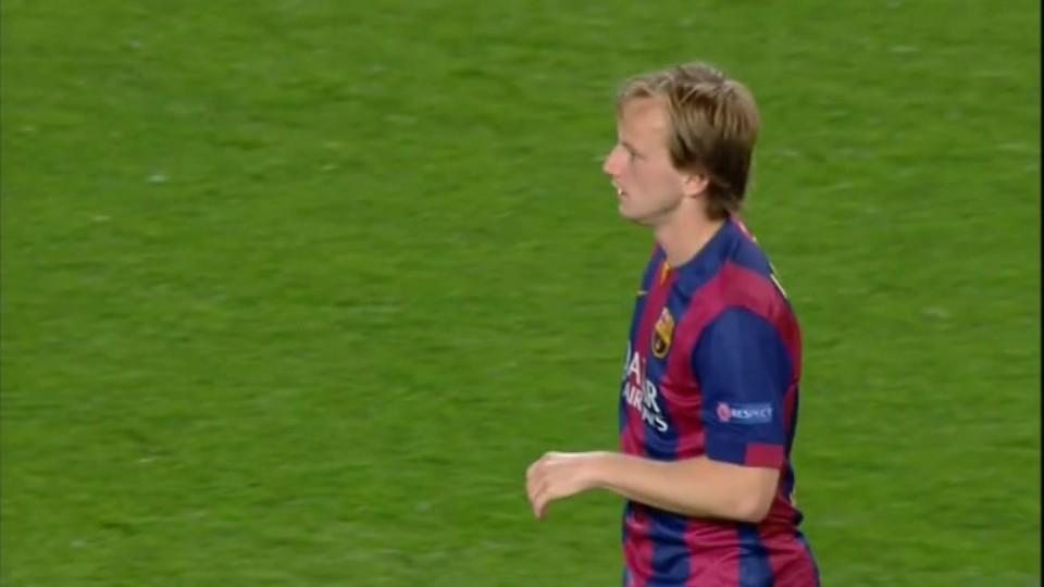 Sestřih zápasu - Barcelona v Paris (21.4.2015)