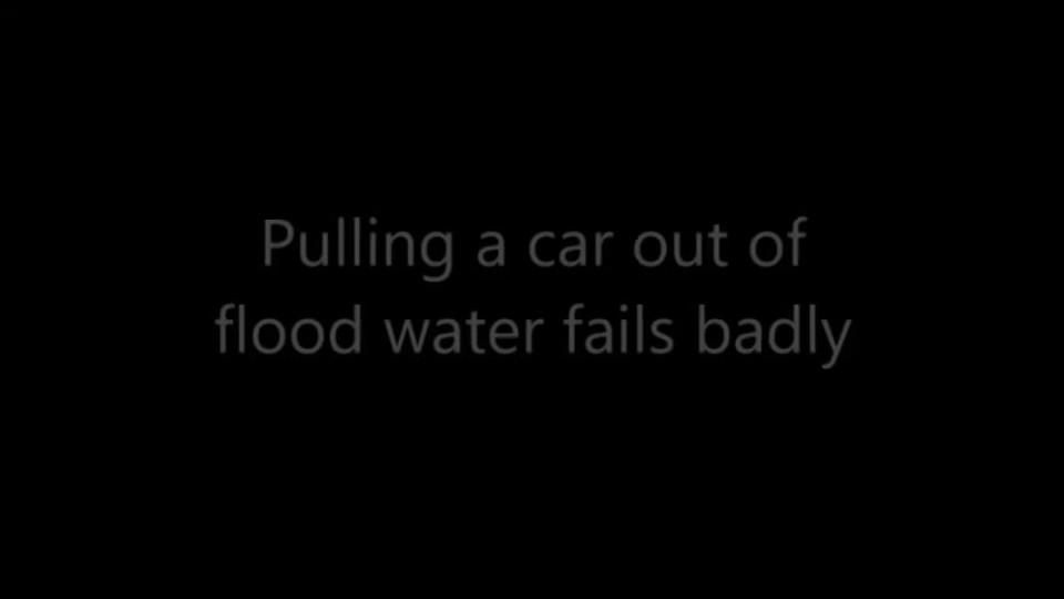 Nepovedená záchrana auta