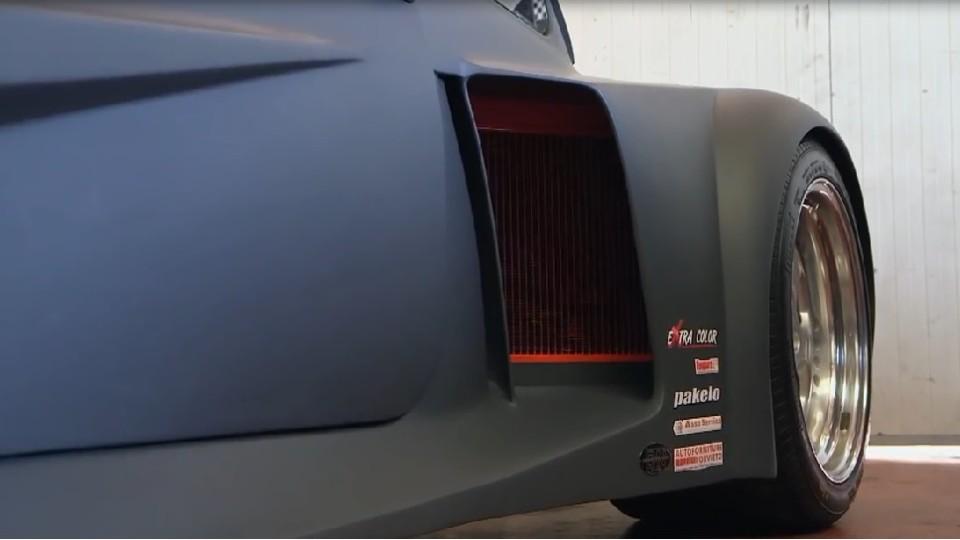 Fiat 500 s Lambo motorem