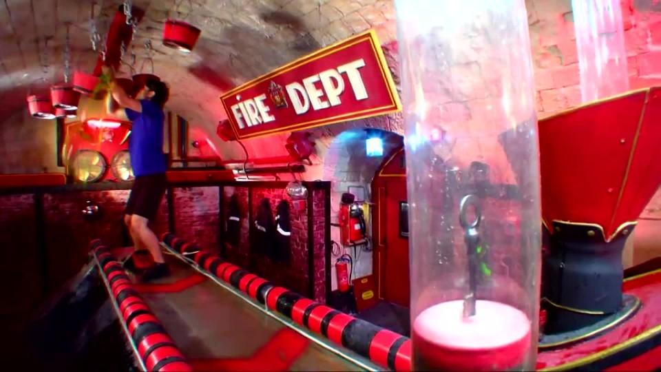 Pevnost Boyard - David Kraus v hasičárně